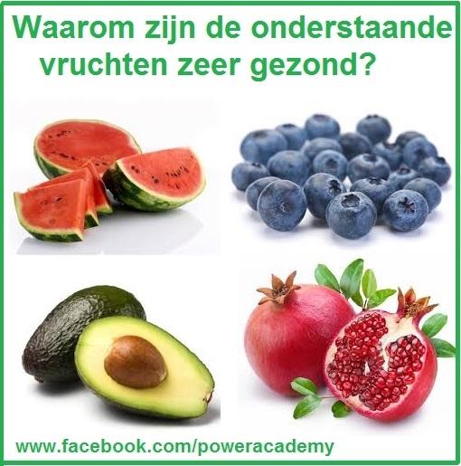 Vier heerlijke zomerse vruchten die je lichaam jong houden.