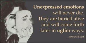 Onverwerkte emoties